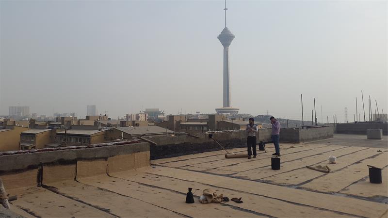 قیرگونی و آسفالت سپیدبام البرز